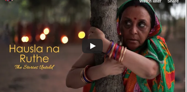 Heard about Charu Maa : a super courageous woman from the village of Gundalba who restored an entire forest cover?