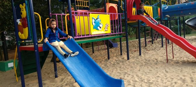 Visitors happy over Indira Gandhi Park Bhubaneswar getting children's play rides