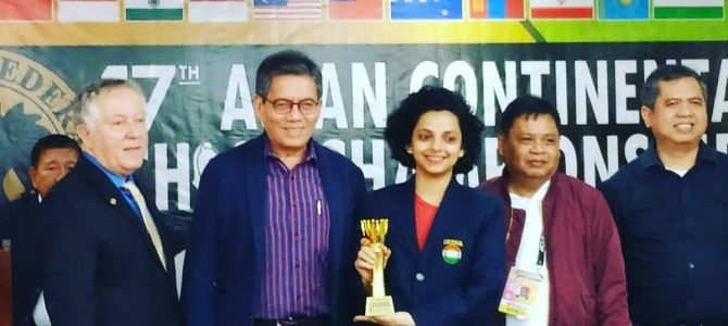 Padmini Rout of Odisha wins Asian Continental Chess Championship-2018 in Philippines, qualifies for Women's world chess championship