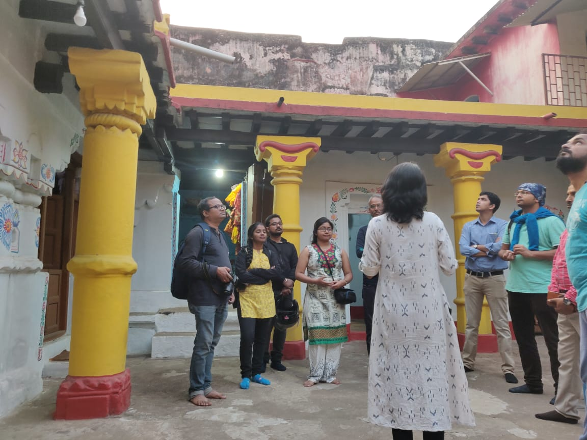 Streets of Ekamra participants at Bharati Math - Bhubaneswar Buzz