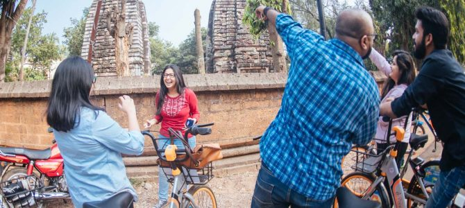 Mo Bhubaneswar Cycle Trails is a Unique Way to Explore the City
