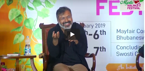 Video : Devdutt Pattanaik's wonderful session on the ancient Bhakti tradition of Odisha along with Prateek Pattnaik