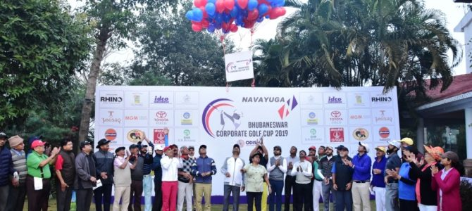 14th NAVAYUGA East Zone Corporate Golf Cup 2019 organized at Bhubaneswar