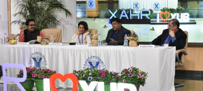 Xavier School of Human Resource Management XAHR held an International Conference on theme Organisational Metamorphosis for Innovation, Inclusion and Agility