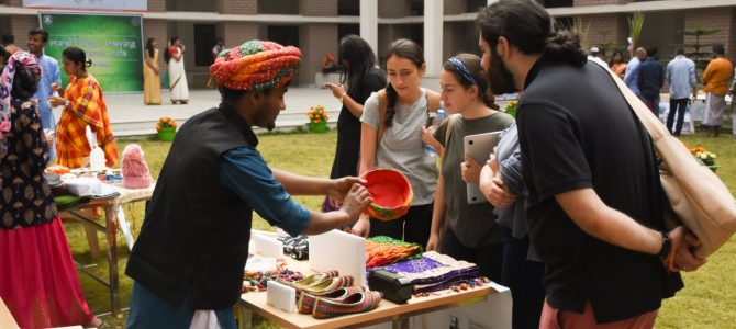 Xavier School of Rural Management hosted its annual Rural Living and Learning Experience Mela at the Xavier City campus.