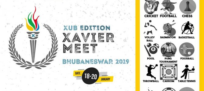 Xavier University Bhubaneswar is all set to host the very first edition of Xavier Sports Meet