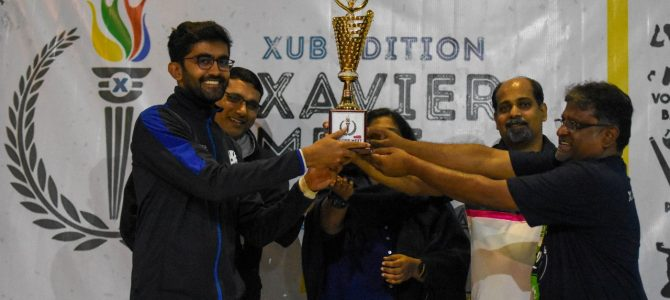 Xavier University Bhubaneswar (XUB) in collaboration with Sportscom, the Sports committee of XUB hosted the very first edition of Xavier Meet