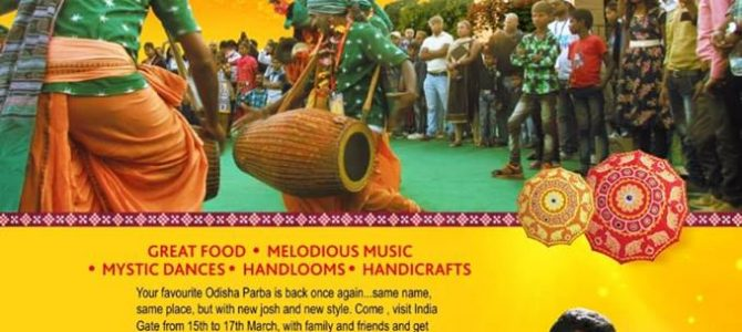 3 day Odisha Parba is back this year and all set to begin in Delhi on March 15