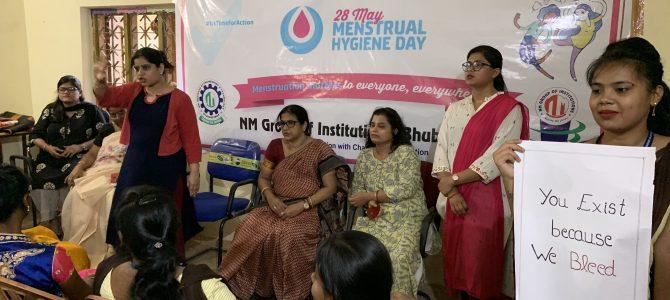 NMIET Bhubaneswar observes Menstrual Hygiene Day in Patrapada Village