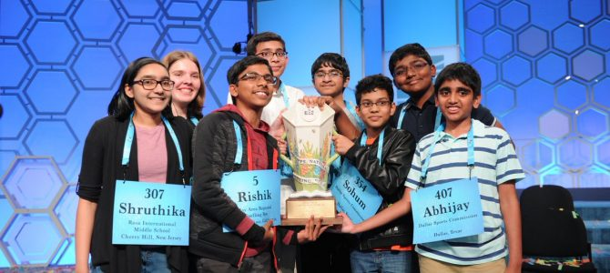 Odia girl Shruthika Padhy winner in Scripps National Spelling Bee in USA as it ends in unprecedented 8-way tie after 20 rounds
