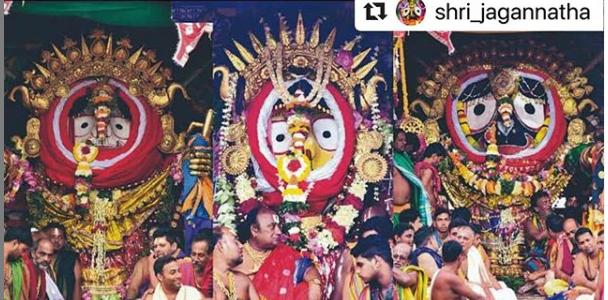 Know more about Puri Jagannath temple rituals : Suna Besha / Bada Tadhau Besha