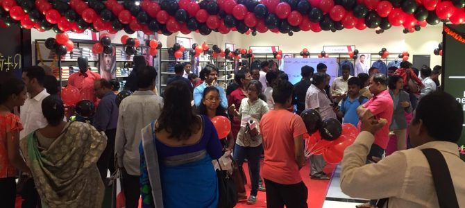 "First Raymond's initiated ""Style Play"" showroom of Bhubaneswar opened on 18th Aug"