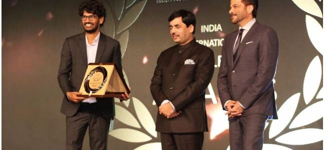 Amrutendu Baral a young filmmaker from Odisha received the prestigious India International Excellence Award at Dubai