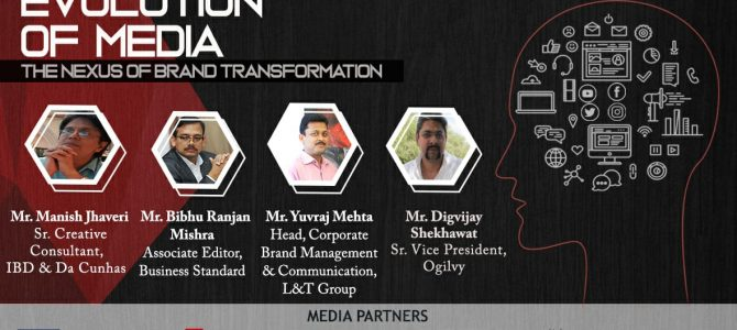 Evolution of Media- The Nexus of Brand Transformation: Talking Point at COMMUNIQUE 2019 XIMB bhubaneswar