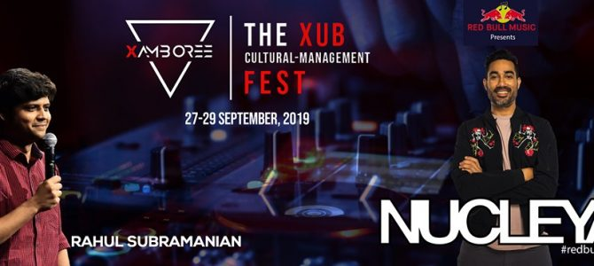 Xamboree 19, the biggest annual Cultural – Management fest of Eastern India of Xavier univesity bhubaneswar all set for 27-29 sept
