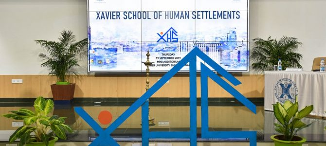 Xavier University bhubaneswar launches Xavier School of Human Settlements (XAHS)