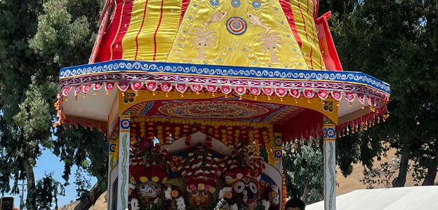 Sri Jagannath Ratha Jatra by JCEC at Niles, Fremont in California USA